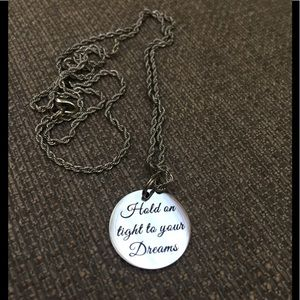 Jewelry - New Engraved Inspirational Encouragement Necklace